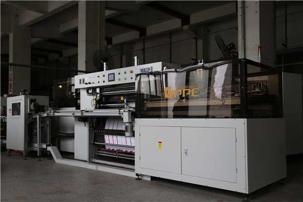 Full-automatic-label-slitter-rewinder-packaging-line